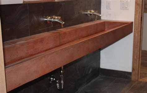 magnificent trough sink in bathroom contemporary with 51 best trough sinks images on pinterest powder room