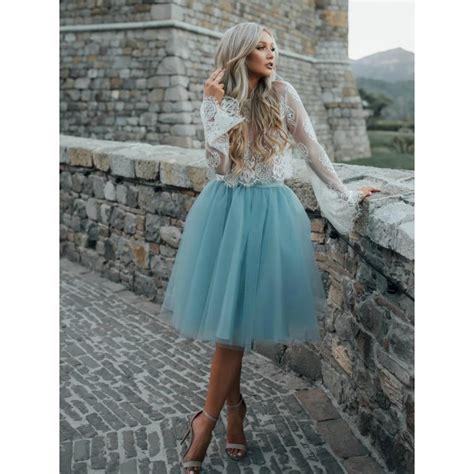 light blue lace dress with sleeves light blue dresses dresses sleeve