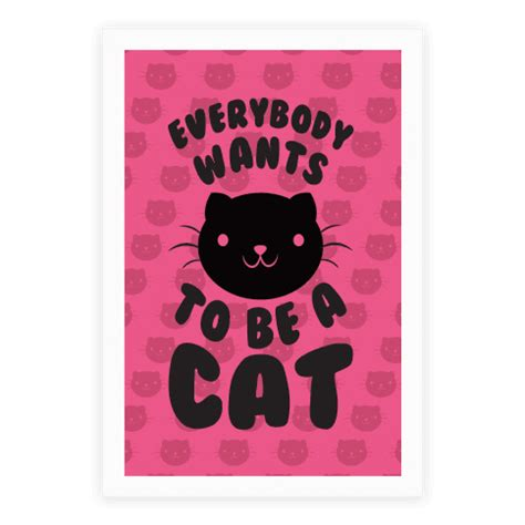 porsche poster everybody wants one everybody wants to be a cat poster lookhuman