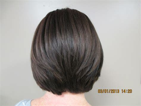 concave cut back view short graduated bob with spikes hairstylegalleries com