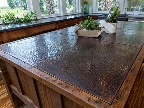 Diy Metal Countertops - salvaged style at cabin 2014 copper countertops