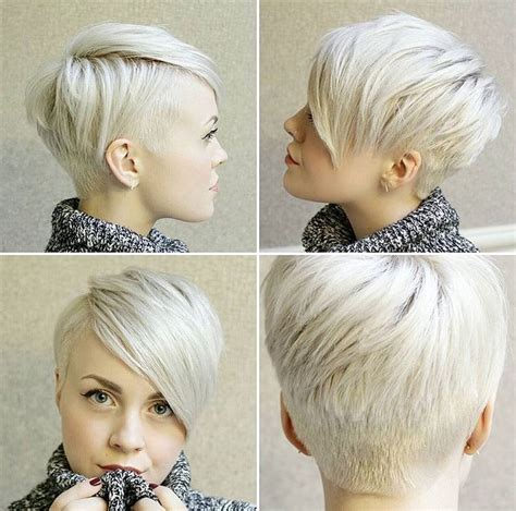 shorter hairstyles with side bangs and an angle best 25 short undercut ideas on pinterest