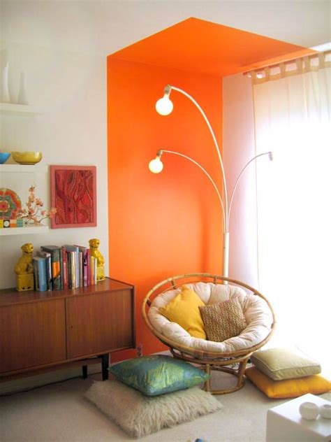 Best Affordable Reading Chair by Colorful Reading Nook Diy With Retro Furniture And