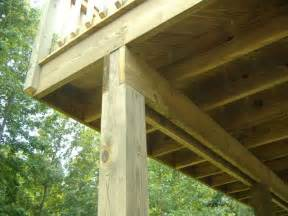 cantilevered deck cantilever decks decks deck supports steel or wood