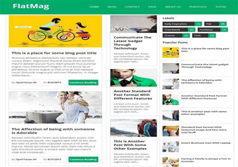 blogger themes free download 2014 flat mag blogger template free download free blogger