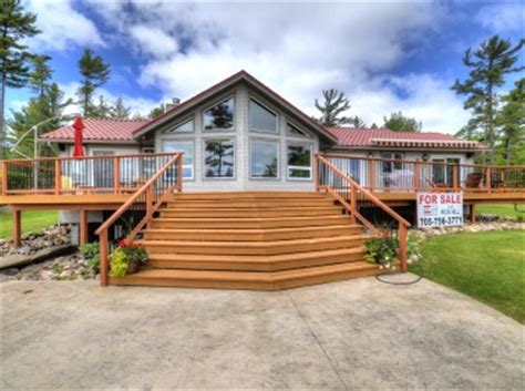 Mls Ontario Cottages by Honey Harbour Cottage For Sale On Mermaid Island Finished