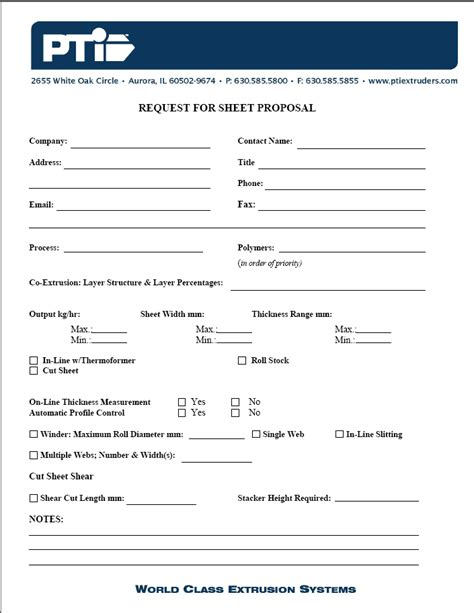 request for bid template request for form free printable documents