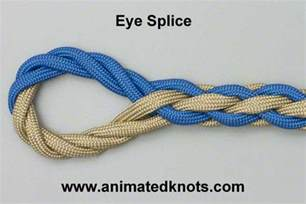 eye splice how to tie the eye splice knots