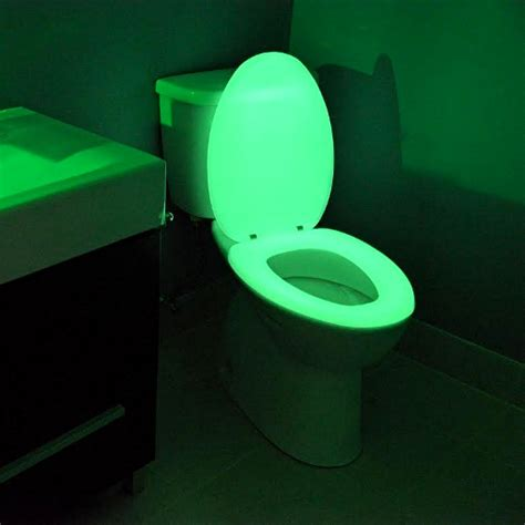 How To Make Glow In The Toilet Paper - glow in the toilet seat cool stuff dude