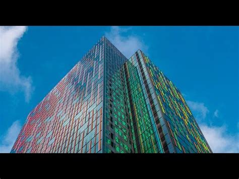 A Dichroic Look by A Look At The Dichroic Glass On S Headquarters