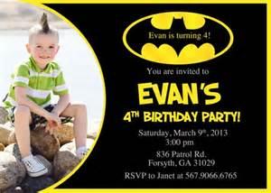 batman birthday invitations ideas bagvania free