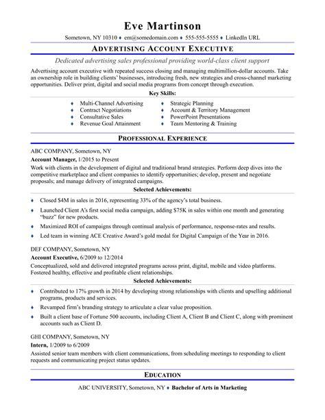 junior account executive resume samples visualcv resume samples