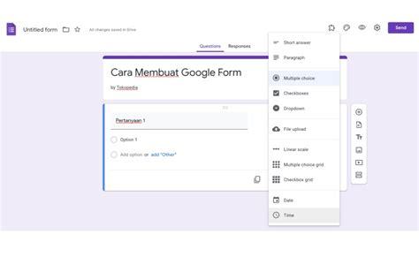membuat google form   serbi lengkapnya