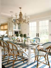 Dining Room Bistro Table And Chairs Sketch42 Whittaker Design Breakfast Dining Room South Hton Summer Home Farm Table