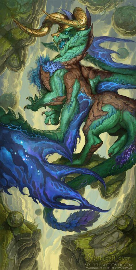 zodiac dragons taurus   sixthleafclover