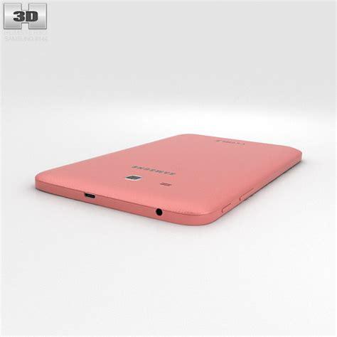 Samsung Tab 3 Lite Pink samsung galaxy tab 3 lite pink 3d model hum3d