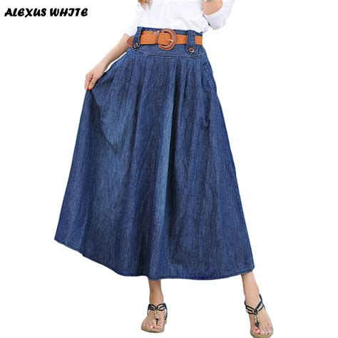 maxi skirts s 2016 summer new large swing