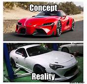 Super Concept Vs Reality Supra With GT 86 Front