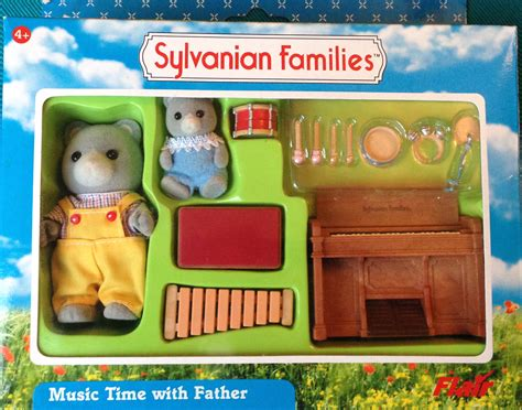 Sylvanian Families Original 5185 Goat Family teddy bears friends sylvanian families time with henry bearbury