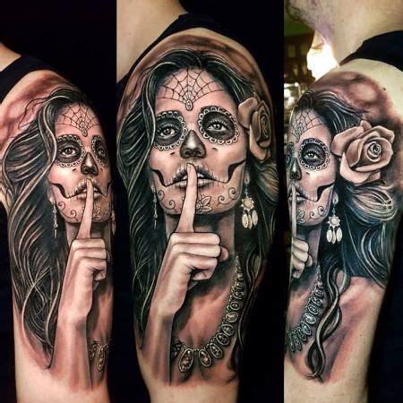 la catrina tattoo la catrina dia de los muertos catrina muerto ink