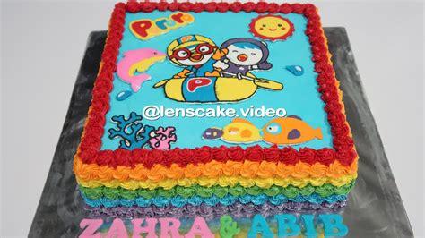 gemes membuat kue ulang tahun how to make birthday cake pororo cara membuat kue ulang