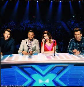 factor australia judges pose   snap   panel   auditions daily