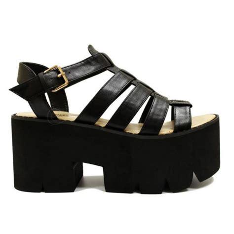 Flat Shoes Zombi trend sand 225 lia flatform fashion society