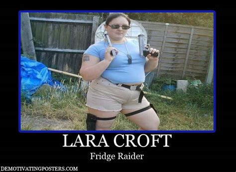 Fridge Raider Meme - lara croft the fridge raider 360jokes