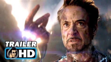 avengers endgame iron man trailer marvel