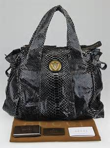Gucci Hysteria Python Bag gucci black python hysteria large tote bag yoogi s closet