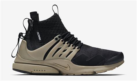 Nike Presto acronym nike air presto release date sole collector