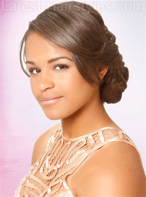 short prom hairstyles for black teenagers 17 great prom hairstyles for african american women