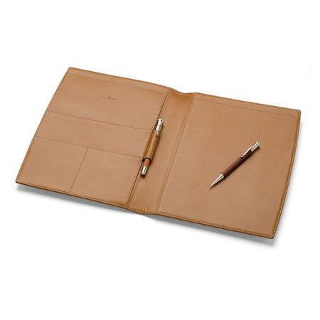 leather notepad cover graf faber castell leather notepad a4 cult pens
