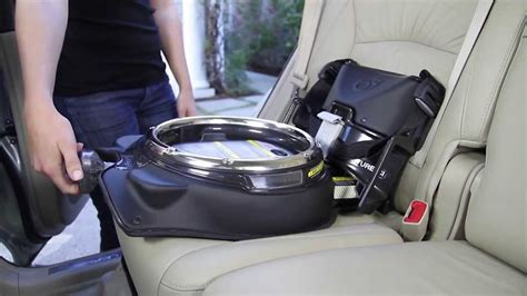 Mercedes Infant Car Seat by Orbit How Installing The Infant Car Seat G2 G3 On The Car
