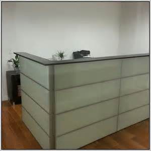 reception desk ikea reception desk ikea hack desk home design ideas