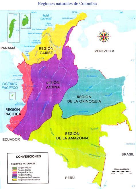 imagenes satelitales de colombia image gallery regiones naturales