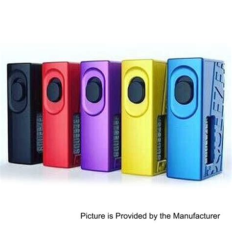 Authentic Hugo Squeezer Bf Squonk Mechanical Box Mod authentic hugo squeezer purple 10ml 20700 bf squonk