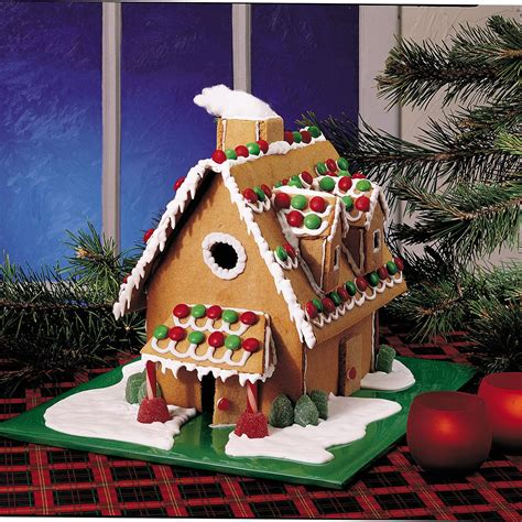 how to design a gingerbread house christmas gingerbread house recipe taste of home
