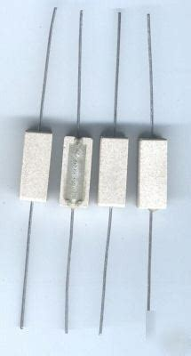 resistors made in usa 5 watt power resistors 22 ohm lot of 4 made in usa