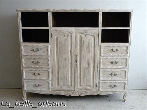 shabby chic entertainment center shaby chic french