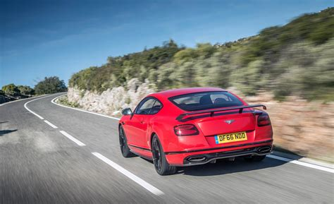 bentley sports car rear 2018 bentley continental supersports cars exclusive