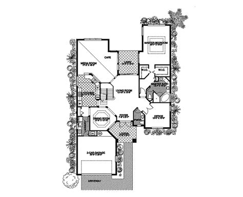 santa fe house plans terra cela santa fe style home plan 106s 0016 house