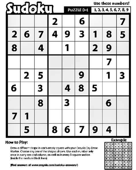 printable outside sudoku sudoku d 1 coloring page crayola com