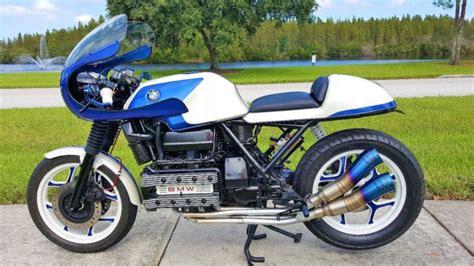 bmw k series cafe racer 1987 bmw k100 cafe racer custom cafe racer motorcycles