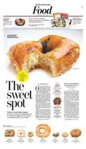 Newspaper Food Sections by The Sweet Spot Newspagedesigner