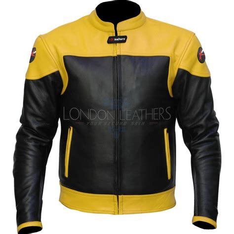 yellow motorcycle jacket rtx venom yellow leather biker jacket