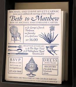 beth and matthew s south wedding invitations