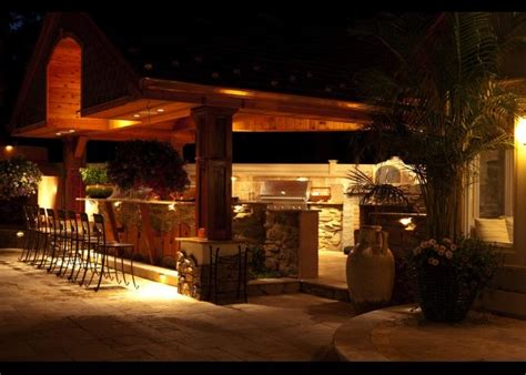 Outdoor Kitchen Lighting Ideas Outdoor Kitchen Lighting Design Ideas That Bring To Your Food And Home Interior