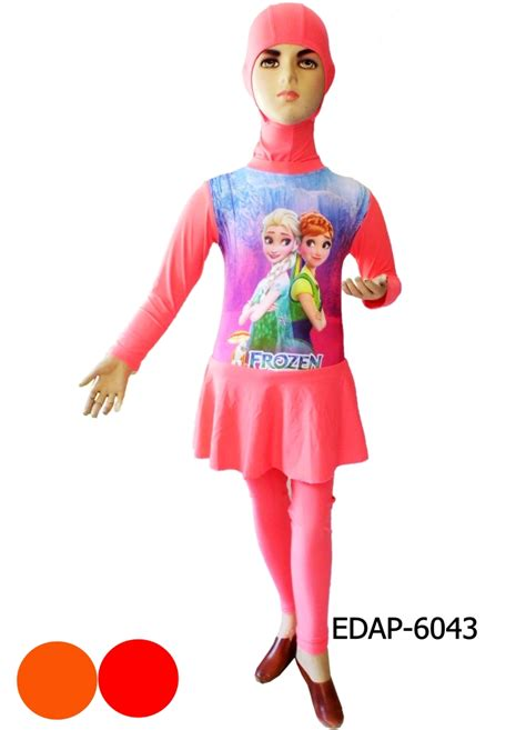 Baju Renang Bayi Karakter Frozen toko baju renang muslimah muslim wanita anak bayi model karakter harga murah baju