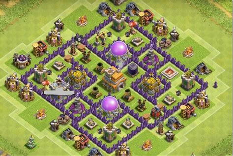 coc town hall 7 clash of clans town 7 newhairstylesformen2014 com